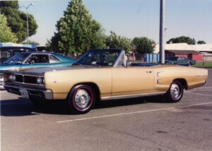 Picture of my 1968 Dodge Coronet 500 convertible