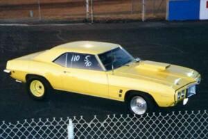 My 69 Firebird 400 at Sacramento Raceway