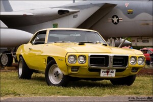 My Goldenrod Yellow 1969 Pontiac Firebird at the Castle Air Museum Car Show