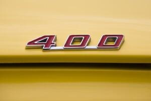 1969 Pontiac Firebird Trunk Hood 400 Emblem