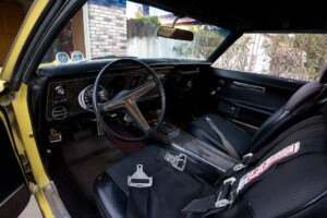 Picture of the interior of my 1969 Firebird 400.