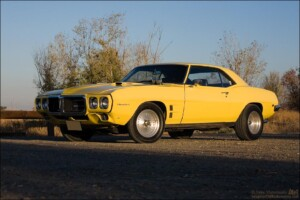 Picture of my Goldenrod Yellow 1969 Firebird 400