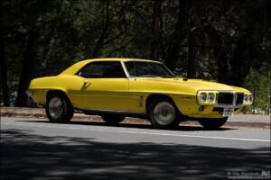 1969 Firebird 400 at Yosemite