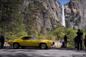 1969 Firebird 400 at Bridalveil Falls, Yosemite