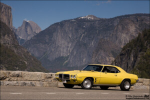 1969 Firebird 400 at Yosemite