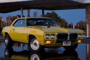 My 1969 Pontiac Firebird 400 at Castle AFB, CA.