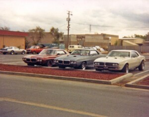 Three Firebirds at Castle AFB