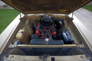 The engine (318) of my 1968 Dodge Coronet 500 convertible