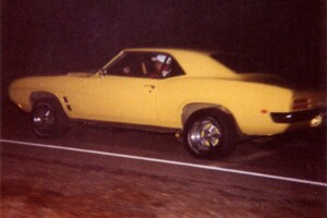 My 1969 Firebird 400 street racing